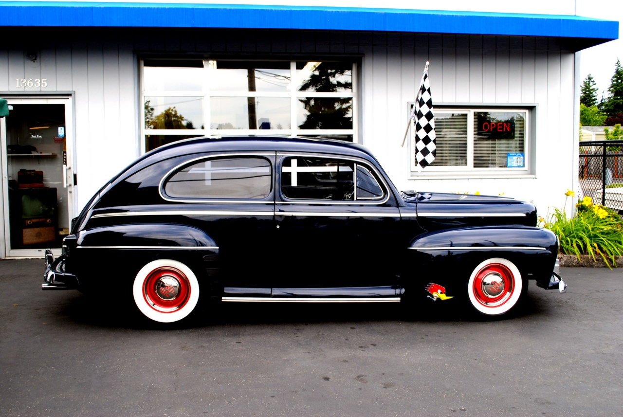 Bad boy auto llc for 1947 ford 2 door